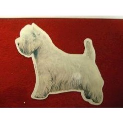 Hunde dekaler West Highl.White Therrier