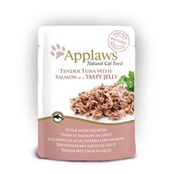 Applaws tender tuna with salmon jelly 70g