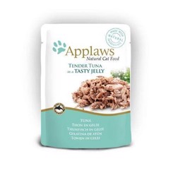 Applaws tender tuna jelly 70g