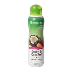TropiClean Berry & Coconut  - Shampoo Deep Cleansing