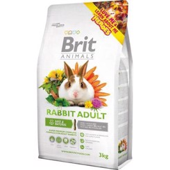 Brit Animals Rabbit adult 3kg