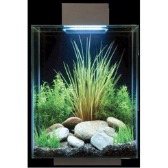 Fluval EDGE 2 Sort 46 ltr med LED lys
