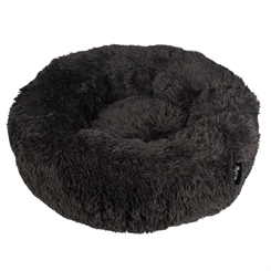 Hundeseng District 70 - FUZZ dounut L Dark Grey