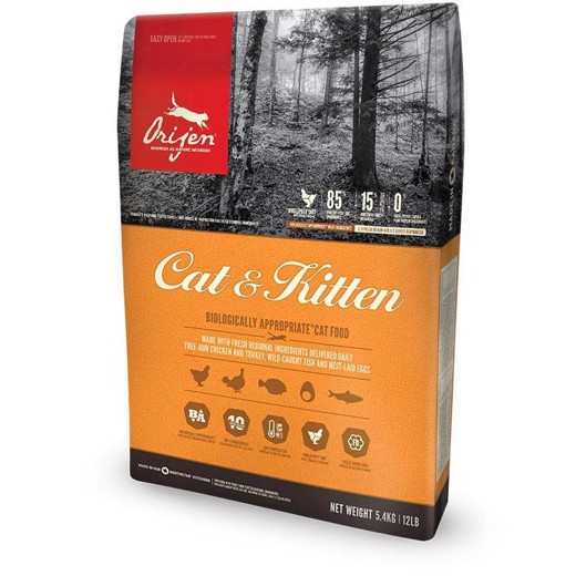 Orijen cat and kitten 5,4 kg