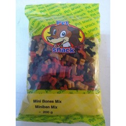 Petsnack mini bones mix hundekiks