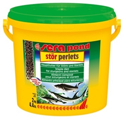 Sera pond stør granulat, 3800 ml, 2 kg - 4 mm piller