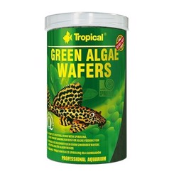 Tropical Green Algae Wafers - 1000 ml